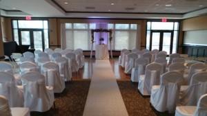 Indoor Ceremony Alternative Bartlett Hills GC