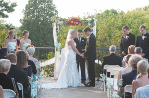 Outdoor Ceremony at Bartlett Hills GC