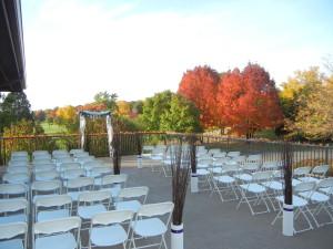 Fall Outdoor Ceremony Bartlett Hills
