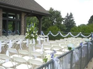 Outdoor Ceremony Bartlett Hills GC
